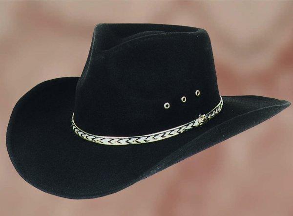 Hat Kansas black
