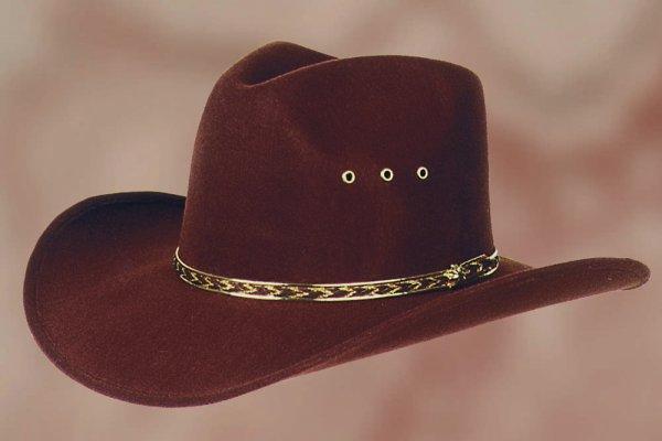 Hat Kansas brown