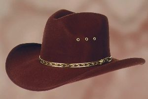 Hat Kansas brown