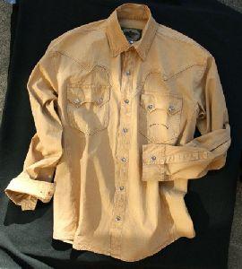 Westernhemd Maverick beige