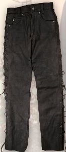 Nubuk leather trousers LH 07308