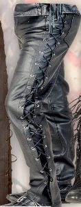 Smooth leather trousers LH 07311