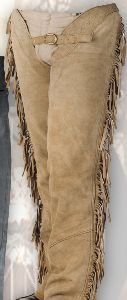 Wild Leather Chaps beige CH 06303