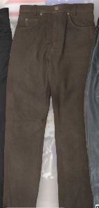 Nubuk Leather Trousers LH 07310