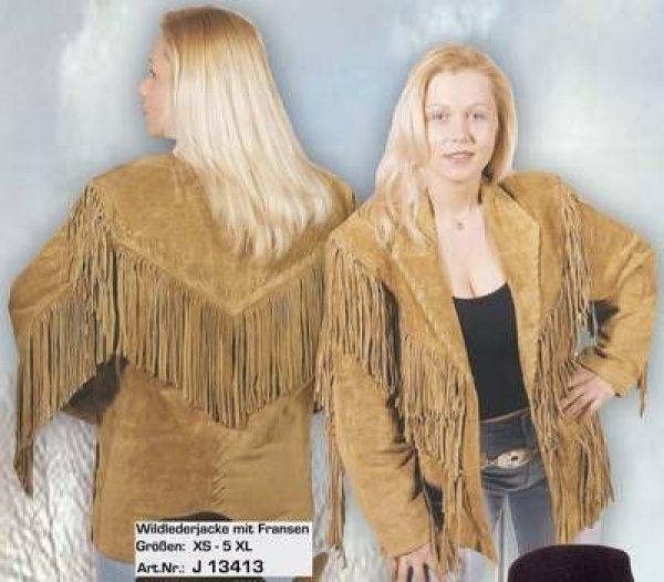 Wild Leather Jacket beige J 13413