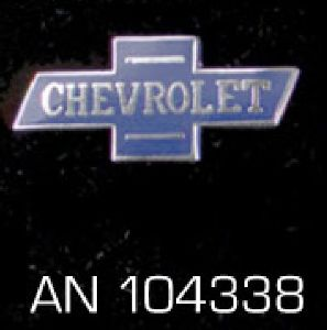 "Pin ""Chevrolet"" AN 104338"