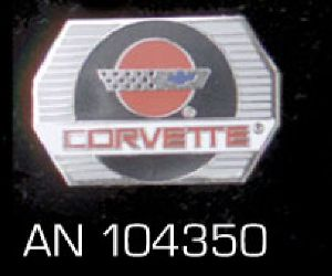 "Anstecker ""Corvette"" AN 104350"