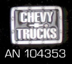 "Pin ""Chevy Trucks"" AN 104353"