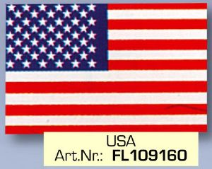 USA Flag FL 109160