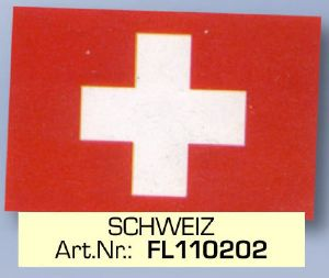Switzerland Flag FL 110202