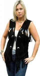 Feather Vest W 28732
