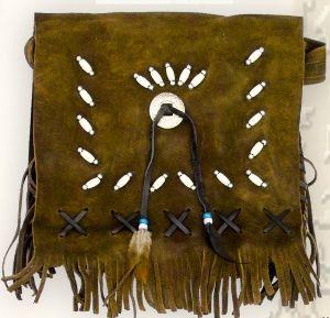 Buckskin Handbag TA 16641