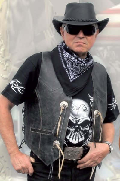 Leather Vest LW 10