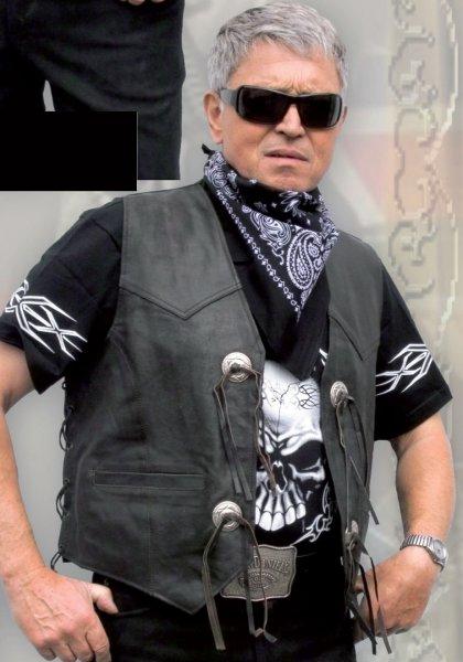 Kopie von  Leather Vest LW 10