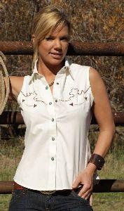 Westernbluse Sue
