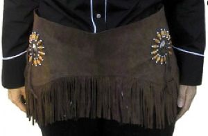 Fringe Belt FG 28203 brown