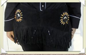 Fringe Belt FG 28202 black