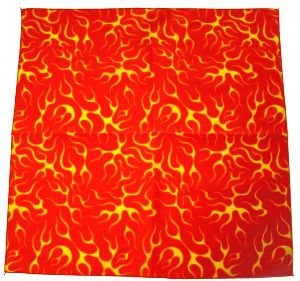 Bandana Flame red (G)