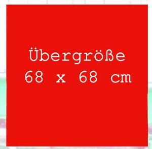 Bandana / Tuch Red Übergröße 635 (G)