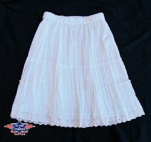 Skirt Sandy white