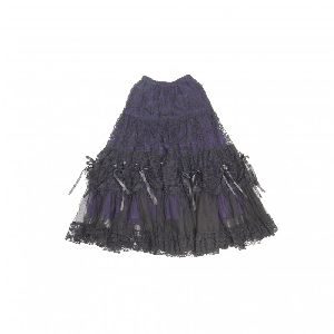 Western Skirt 2122.28 purple (G)