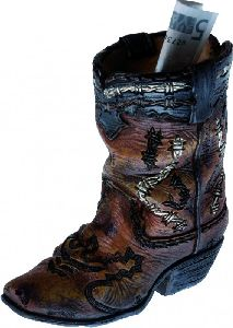 Spardose Boot (G) 2194