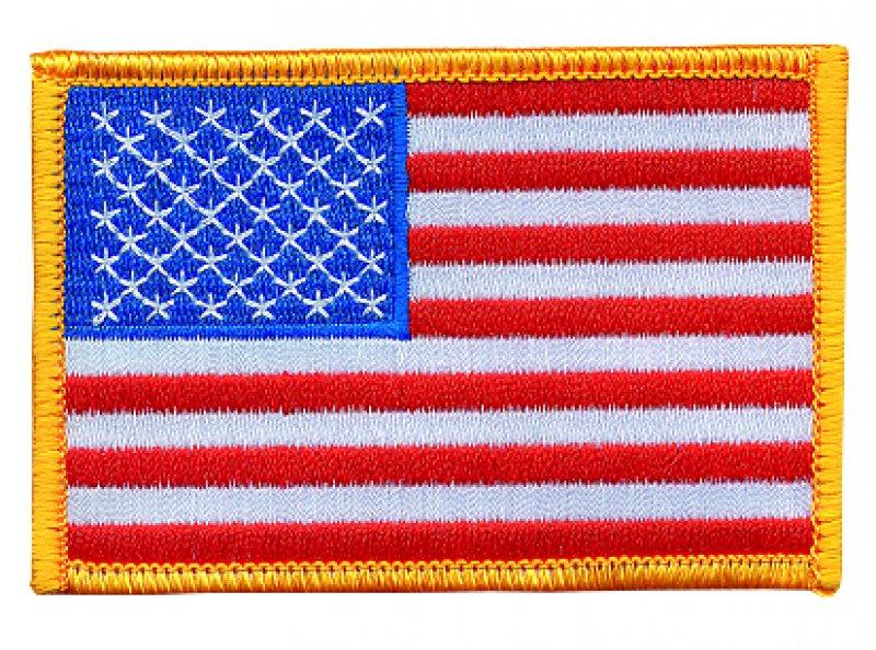 Aufnäher USA-Flagge AUF 14812