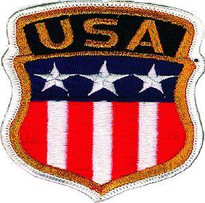 Aufnäher 1350 USA-Stars