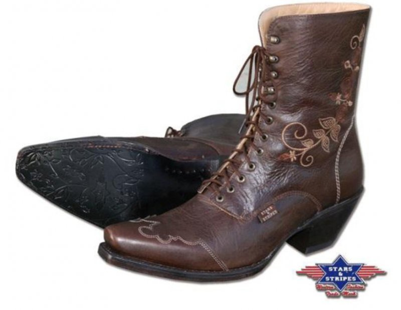 Western boots Rosi brown