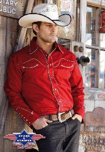 Westernhemd Jack rot