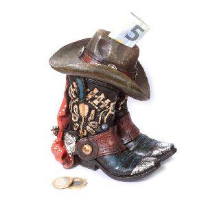 Coin Bank Bandana,Hat&Boots (G) 2633