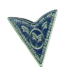 Kragenecke Silver Pattern