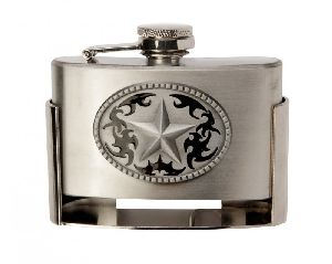 Buckle Flask Western Star