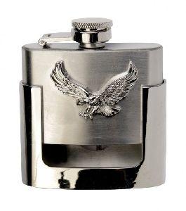 Gürtelschnalle mit Flachmann Flask Flying Eagle (G)