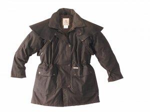 SCIPPIS Drover Jacket, braun