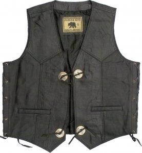 Leather Vest W 28597