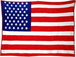 Flauschdecke USA (G)