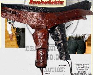 Revolverholster (G) schwarz
