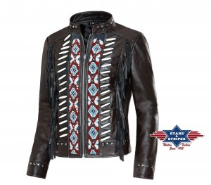 Fransenjacke Acoma von Stars and Stripes