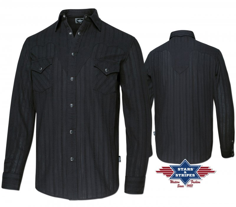 Western Shirt Robin black