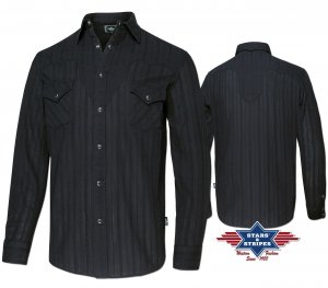 Western Shirt Robin black