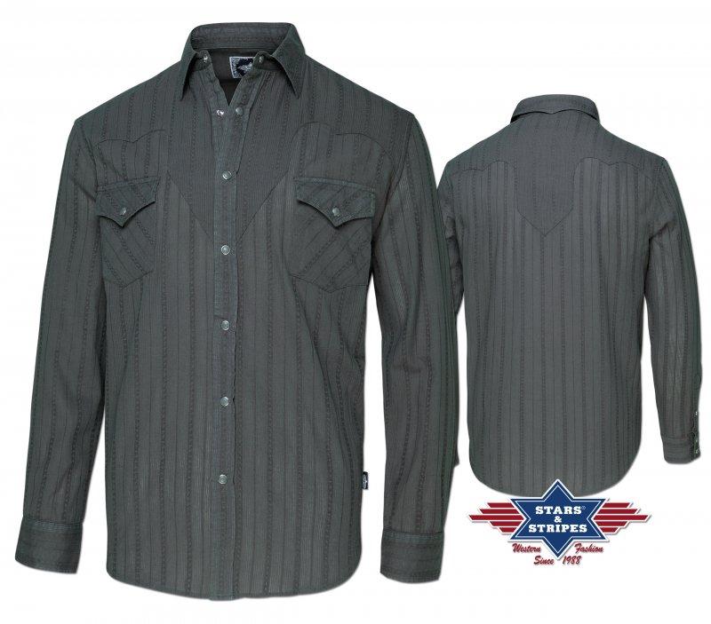 Western Shirt Robin grey