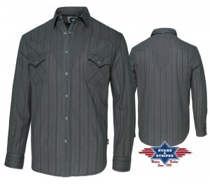 Western Shirt Robin grey