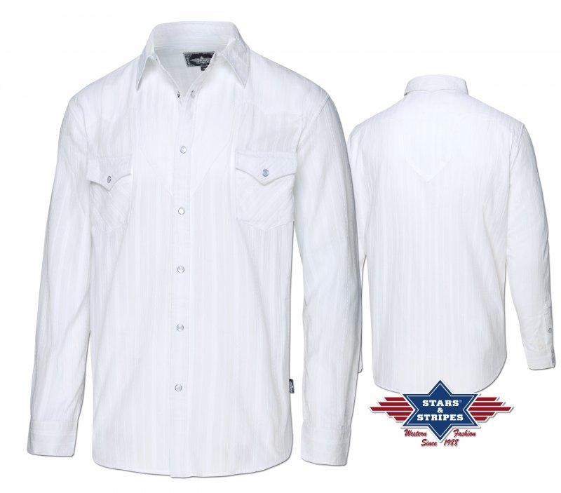 Western Shirt Robin white