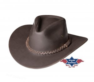 Leather Hat Luis