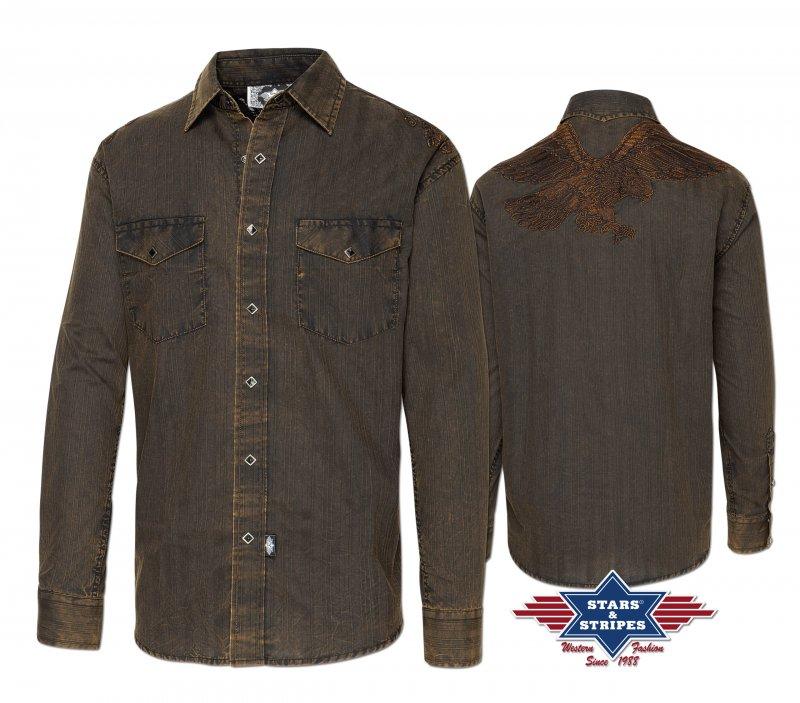 Western Shirt Golden Eagle