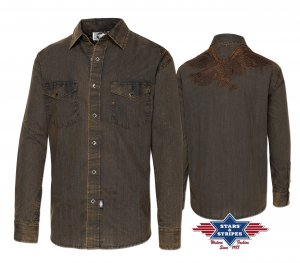 Western Shirt Golden Eagle