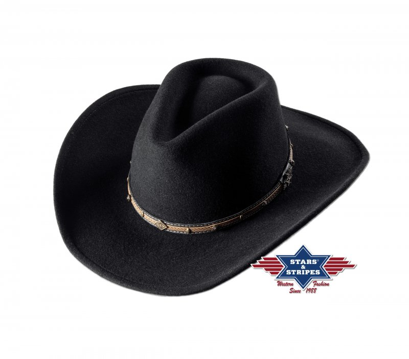 Hat Laredo black