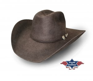 Hat Wyoming brown
